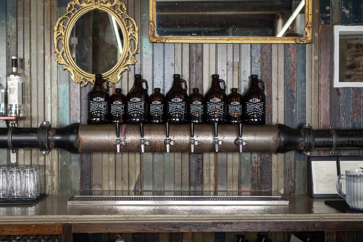 Coffee Beer Chiaroscuro Cascara Saison Second District Brewing Ultimo Philadelphia Pennsylvania